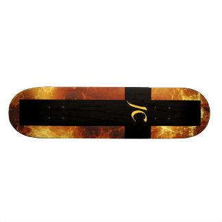 Christian Fire JC Cross Skateboard Deck