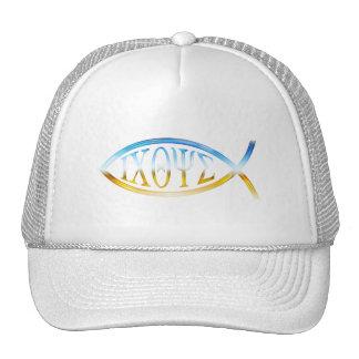 Christian Fish Hats