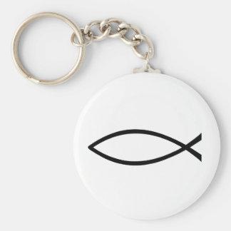 Christian Fish Keychain