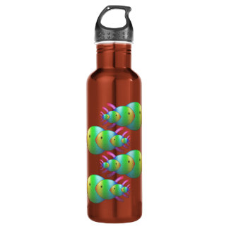 Christian Fish Symbol Families 710 Ml Water Bottle
