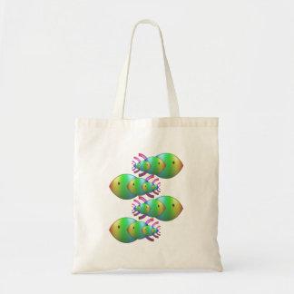 Christian Fish Symbol Families Budget Tote Bag