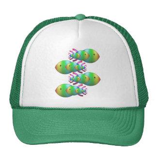 Christian Fish Symbol Families Mesh Hats