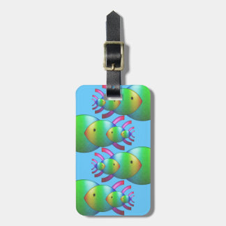 Christian Fish Symbol Families Luggage Tag