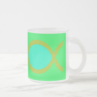 Christian Fish Symbol Mugs