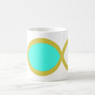 Christian Fish Symbol Mug