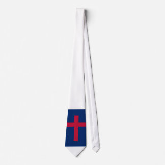 Christian Flag Christian Cross Tie