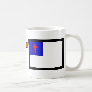 Christian Flag Coffee Mugs