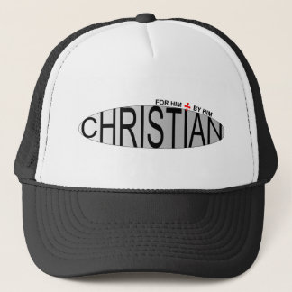 Christian For Him By Him Hat