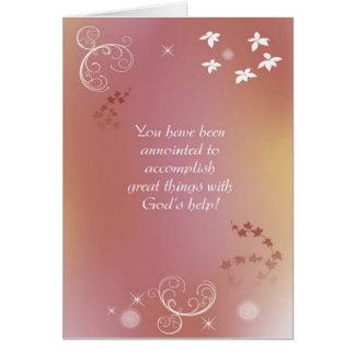 Christian Friendship Greeting Card