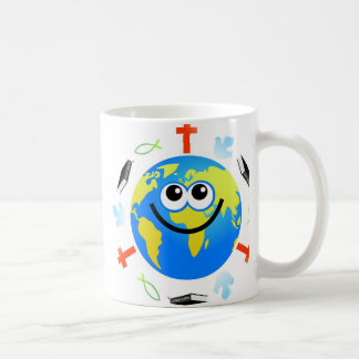 Christian Globe Basic White Mug
