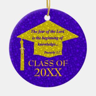 Christian Graduate Ceramic Ornament