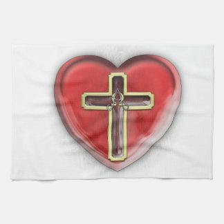 Christian Heart Towels