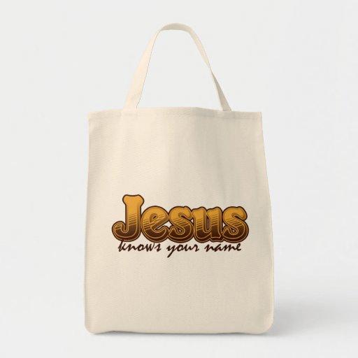 Christian Jesus Tote Bag