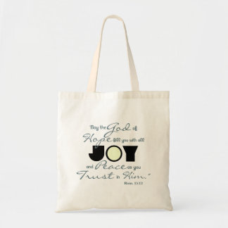 Christian Joy Tote Bag