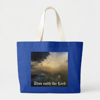 Christian Jumbo Tote Bag