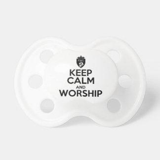 Christian KEEP CALM AND WORSHIP Dummy