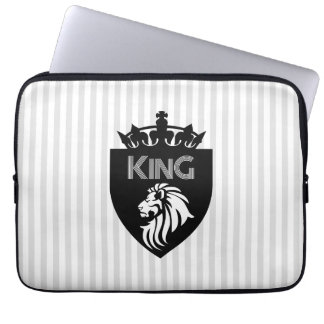 Christian King of Kings Lion Laptop Sleeve