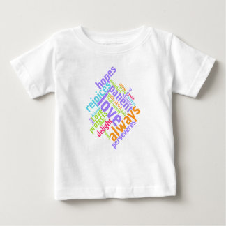 Christian LOVE IS PATIENT Baby T-Shirt
