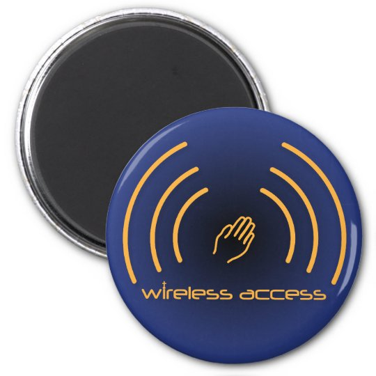 Christian magnet: Wireless Access (prayer) Magnet