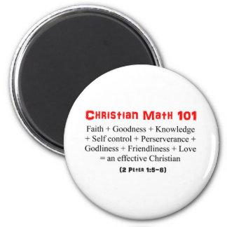 Christian Math 101 Magnet