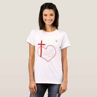 Christian Merry Christmas red T-Shirt
