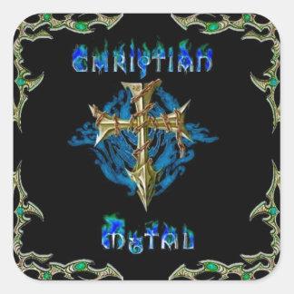 Christian Metal Stickers