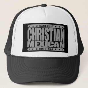027e9dea2cbba CHRISTIAN MEXICAN - God Loves Brave Mayan Warriors Trucker Hat