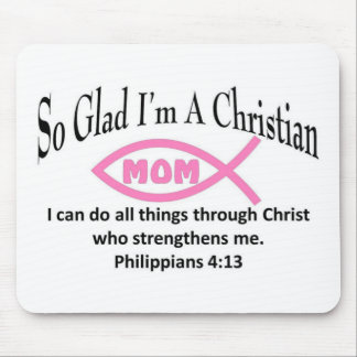 Christian Mom Mouse Pad