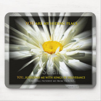 Christian Mousepad You Are My Hiding Place