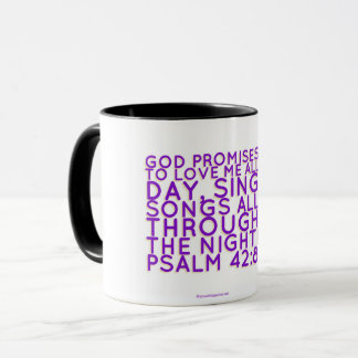 Christian Mug: Psalm Scripture Mug