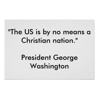 Christian nation poster