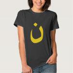 Christian Nazarene Spiritual Symbol in yellow T Shirt