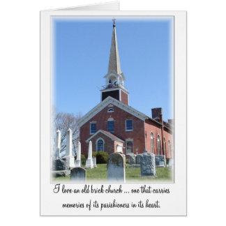 Christian Note Card, Church Notecard: Port Tobacco Card