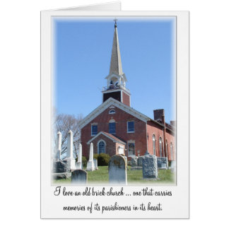 Christian Note Card, Church Notecard: Port Tobacco Note Card