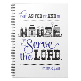 Christian Notebook Lines Bible fresh one Joshua