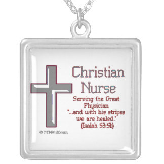 Christian Nurse Necklace