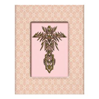 Christian Ornate Cross 11 21.5 Cm X 28 Cm Flyer