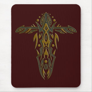 Christian Ornate Cross 15 Mouse Pad
