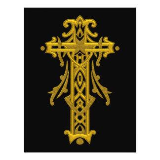 Christian Ornate Cross 20 Flyers