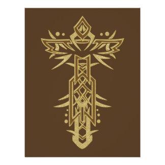 Christian Ornate Cross 25 21.5 Cm X 28 Cm Flyer