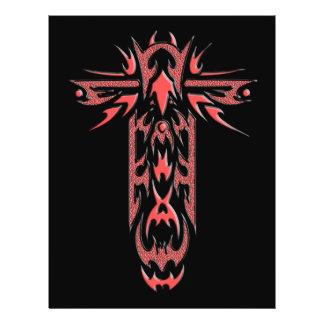 Christian Ornate Cross 2 21.5 Cm X 28 Cm Flyer