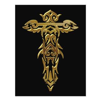 Christian Ornate Cross 30 Custom Flyer