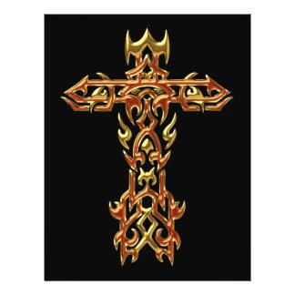 Christian Ornate Cross 45 21.5 Cm X 28 Cm Flyer