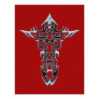 Christian Ornate Cross 51 21.5 Cm X 28 Cm Flyer