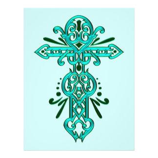 Christian Ornate Cross 56 Flyer Design