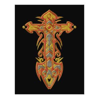 Christian Ornate Cross 59 21.5 Cm X 28 Cm Flyer