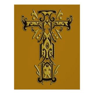 Christian Ornate Cross 5 21.5 Cm X 28 Cm Flyer