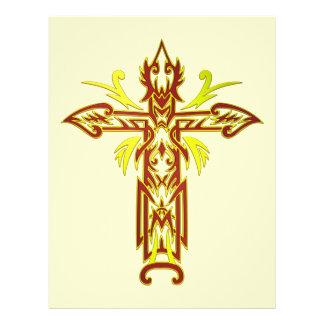 Christian Ornate Cross 63 21.5 Cm X 28 Cm Flyer