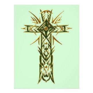 Christian Ornate Cross 68 21.5 Cm X 28 Cm Flyer