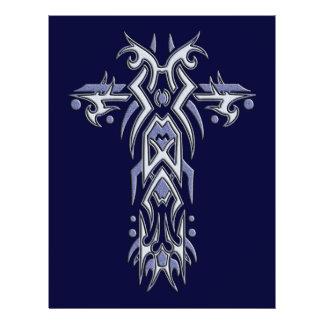 Christian Ornate Cross 6 21.5 Cm X 28 Cm Flyer